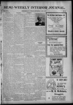 Image 1 Of Semi Weekly Interior Journal September 3 1901