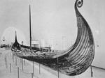 Oseberg Ship - Note on slide: Ship Museum