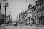 Short Street - Note on slide: Art works of the Bluegrass 1898