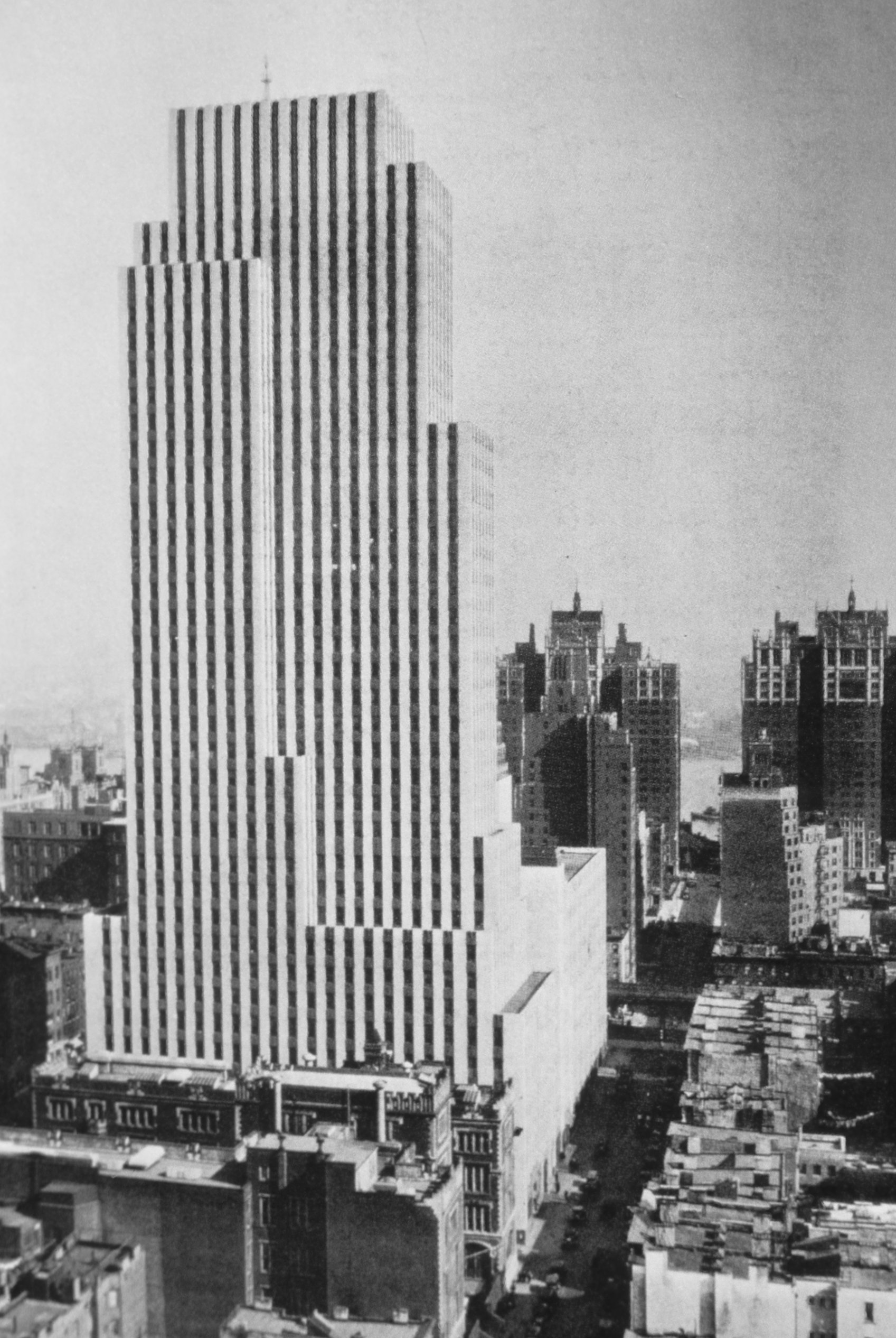 The Daily News Building Note On Slide Andrews Architecture In