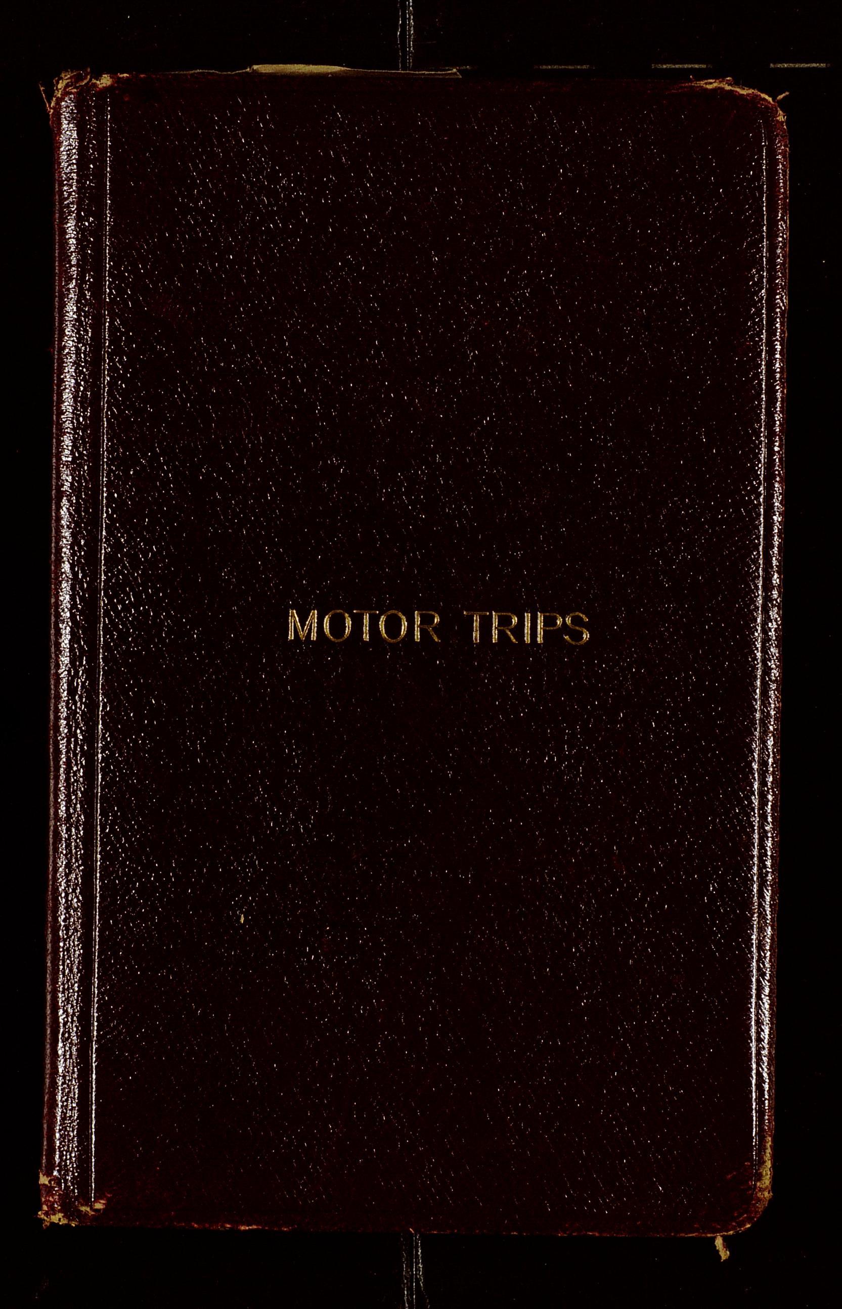 motor trip logs e c means kentucky digital library