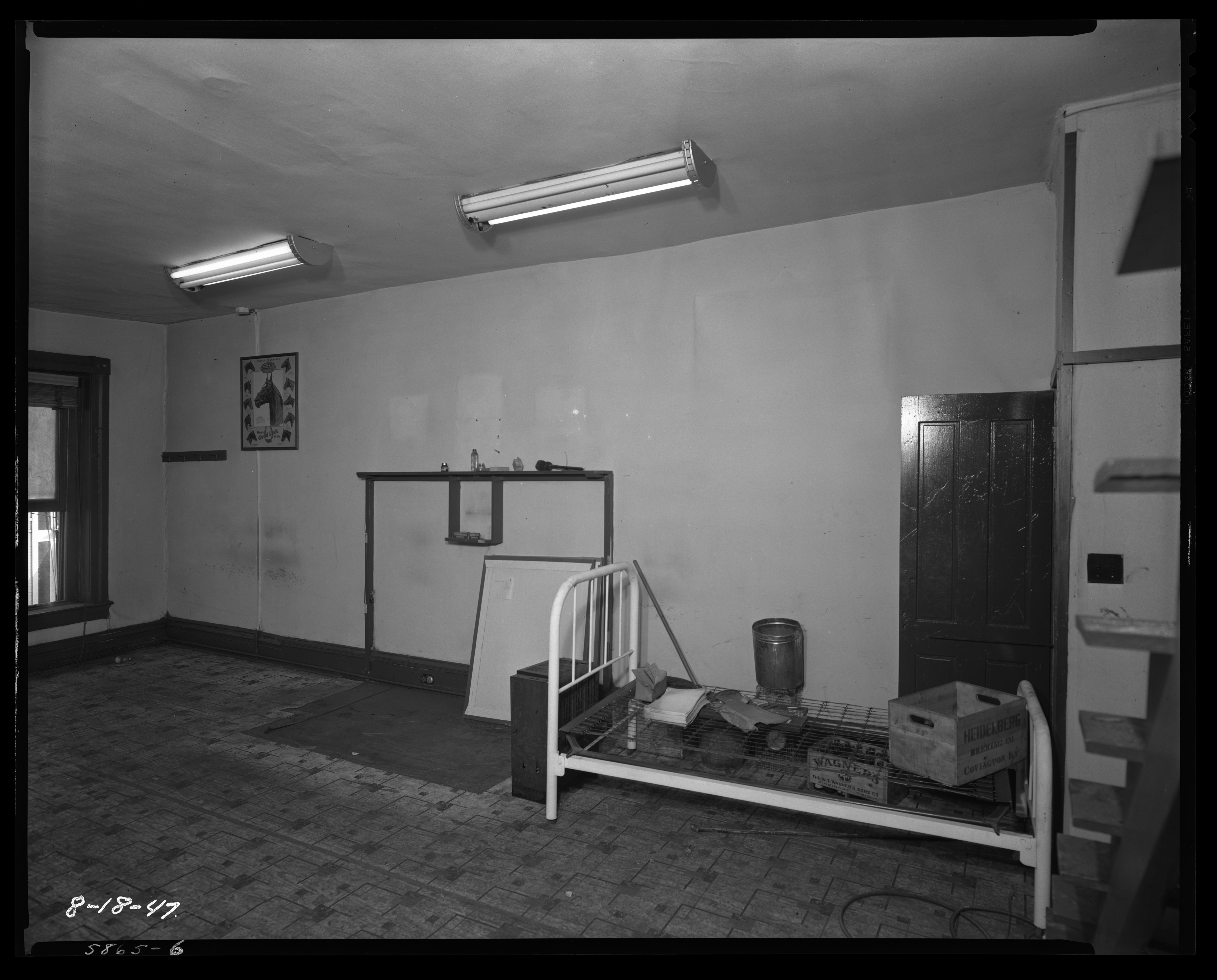 zoo cafe building, interior (117 south limestone); f.w. woolworth