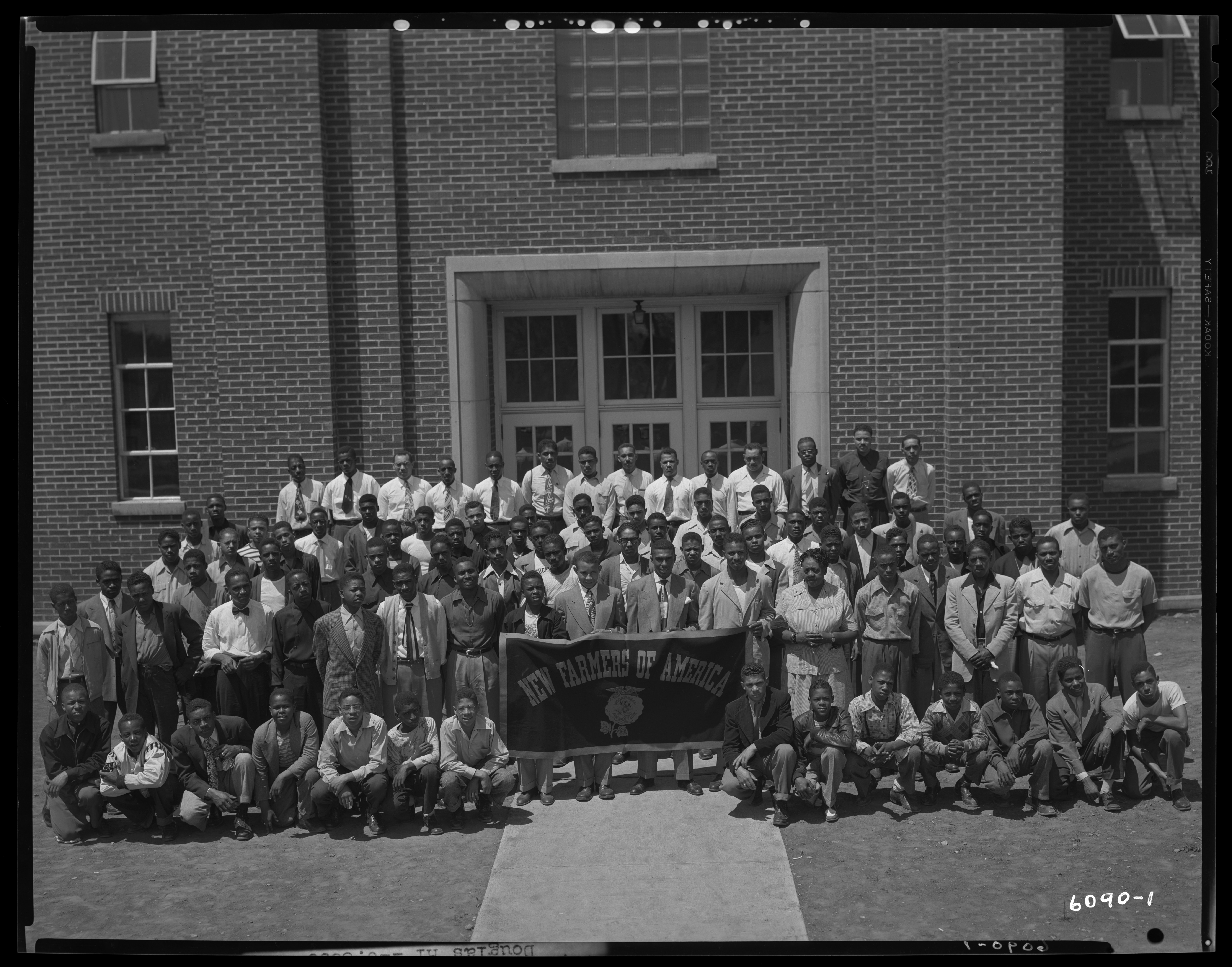 Douglas High (475 Price); New Farmers of America (N.F.A); exterior ...