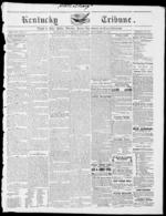 Image 1 of The Kentucky tribune, September 12, 1856